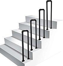 Corrimano per scale in ferro battuto, gradini di