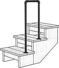 Corrimano per scale Ringhiera per scale in ferro