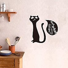 Cosa dovremmo mangiare con simpatici adesivi gatti