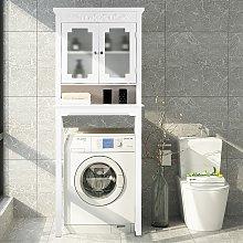 Costway Armadio salva spazio sopra il WC