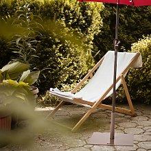 Costway Base quadrata per ombrellone con manopole