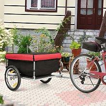 Costway Carrello portapacchi per bicicletta