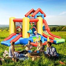 Costway Castello gonfiabile 7 in 1 per bambini con