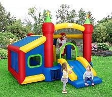 Costway Castello gonfiabile gioco per bambini con