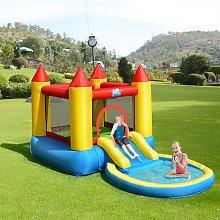 Costway Castello gonfiabile per bambini con