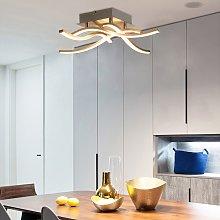 Costway Lampada da soffitto a LED con 4 luci,