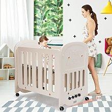 Costway Letto 3 in 1 per bambini con materasso