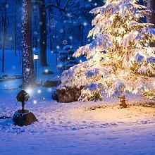 Costway Luce effetto neve con telecomando da