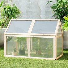 Costway Mini serra di legno ideale per giardino