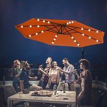 Costway Ombrellone LED 3 m per giardino cortile