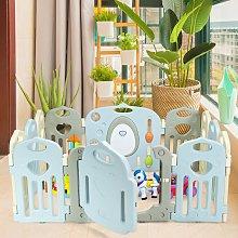 Costway Recinto di gioco per bambini in plastica