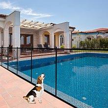 Costway Recinzione di protezione per piscina in