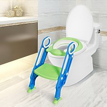 Costway Scaletta per WC per bambini regolabile con