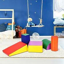 Costway Set di 5 blocchi giocattoli per bambini