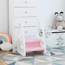 Costway Sgabello per bambini con design