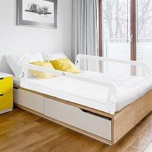 Costway Sponda per il letto 150 cm pieghevole