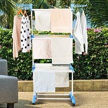 Costway Stendibiancheria per lavanderia a 3 piani