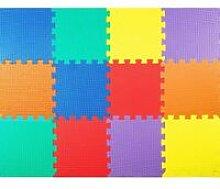 Costway - Tappeto Puzzle Bambini 12 Pezzi,