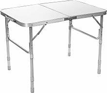 Costway - Tavolo da Campeggio in Alluminio, Tavolo