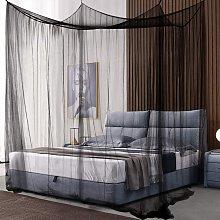 Costway Zanzariera da letto rettangolare Tende per