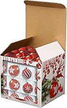 Crazyfly, scatola di carta natalizia colorata