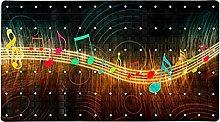 Creative Music Notes - Tappetino antiscivolo per