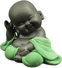 Creative Statue di Buddha in ceramica Piccola