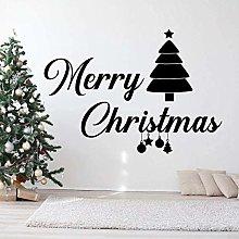Creativo Buon Natale Saluti Adesivo Murale Adesivo