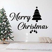 Creativo Buon Natale Saluti Di Natale Adesivo