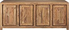 Credenza a 4 ante in legno massello di sheesham