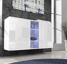 Credenza modello Nora A1 (120x70cm) colore bianco