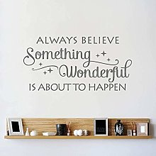 Credi Sempre In Qualcosa Adesivo Da Parete