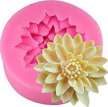 CSCZL 3D Lotus Crisantemo Fiori Strumenti per