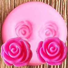 CSCZL Stampi in Silicone per Fiori 3D Rose Cupcake