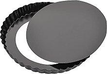 CTGVH - Teglia per pizza con fondo rimovibile, in
