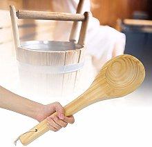 Cucchiaio Singolo per Sauna, Manico in Legno