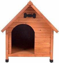 CUCCIA in Legno per cane legno di cipresso 75 x 95