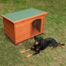 Cuccia per cane con tetto apribile 85 cm x 57 cm x