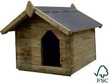 Cuccia per Cane in Legno di Pino Silvestre -