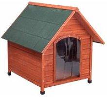 Cuccia per cane in legno pretrattato + porta