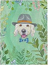 Cucciolo Di Cane Verde Bandiera del Giardino