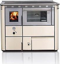 Cucina a legna e stufa per ricaldamento centrale -