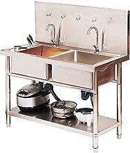 Cucina Catering Lavello In Acciaio Inox