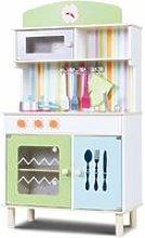Cucina per Bambini Cucina Giocattolo in Legno con