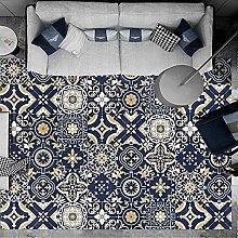 cucito blu parquet soggiorno camera da letto
