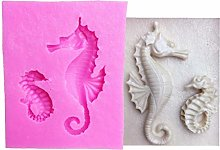 CULER Stampo in silicone per torte e cavalluccio