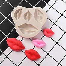 Cuore della labbra AMORE Forme in silicone stampo