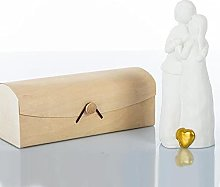 Cuorematto - Statuina a Forma di Coppia di sposi