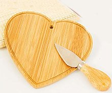 Cuorematto - Tagliere in legno a forma di cuore
