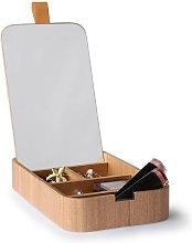 Curchy scatola specchiera in legno di salice